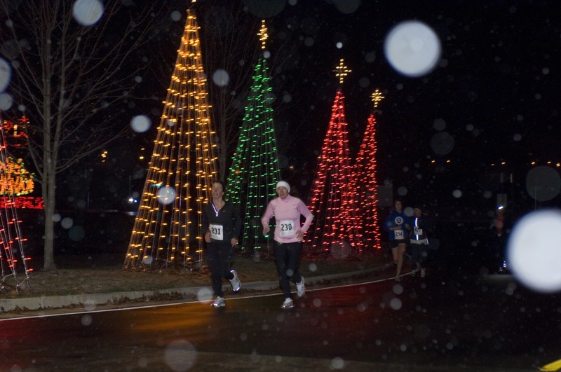 Run-Walk at KHP Southern Lights 08