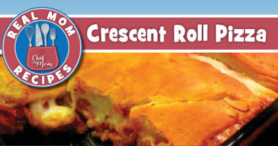 Crescent Roll Pizza