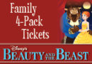 July 2017 – 'Beauty & the Beast' Ticket Giveaway