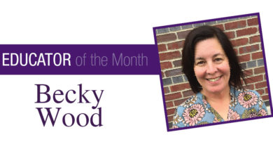 Educator of the Month OCT