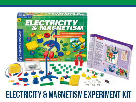 Electricity & Magnetism Experiment Kit Giveaway