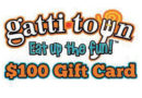 January 2018 – $100 Gattitown Gift Card
