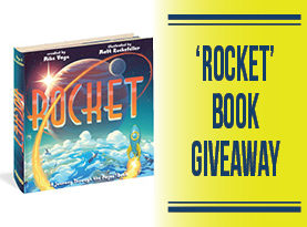 "January 2018 – ""Rocket: A Journey Through the Pages Book"" Giveaway"