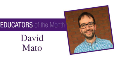 Educator of the Month Feb 18