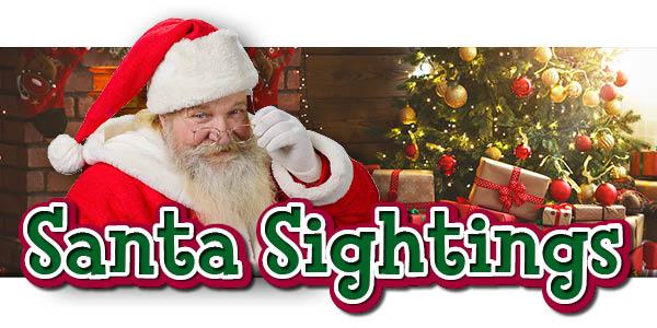 Lexington Family 2018 Santa Sightings