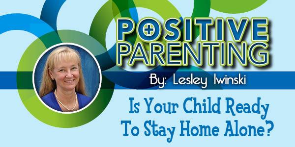 Lexington Family Positive Parenting child home alone