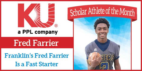Lexington Family ScholarAthlete Dec 18 Fred Farrier