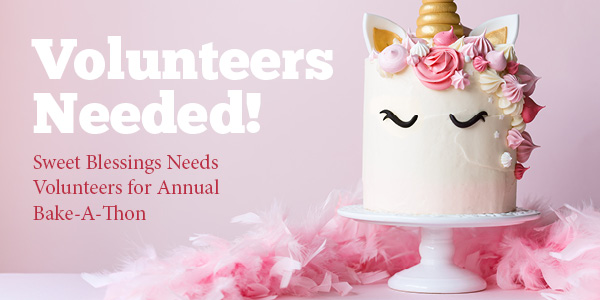 Pleasing Sweet Blessings Needs Volunteers For Annual Bake A Thon Funny Birthday Cards Online Inifodamsfinfo